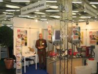 Franz Brandmaier am Messestand